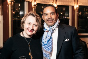 ISES Hong Kong Leadership dinner Beatrice Remy and Torrey Dorsey